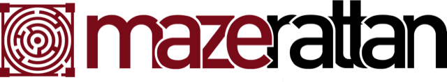 Maze Rattan - Rehau Brown Round Daybed